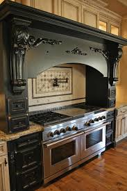 art deco kitchen lighting. Interior Art Deco Black Mantel On Kitchen With Granite Lighting D
