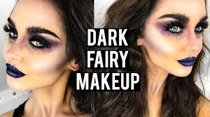 dark evil fairy makeup tutorial katesbeautystation