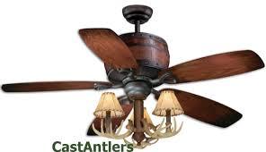 52 reion antler barrel ceiling fan