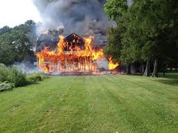 more than a barn lost at pot pie farm a chesapeake journal pot pie barn burning