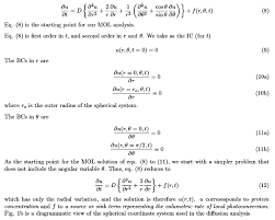 diffusion equation in spherical coordinates extract