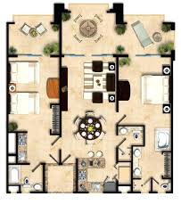 3 Bedroom Suite Floor Plan 3 Bedroom Hotels Myrtle Beach Sc .
