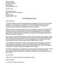 Cover Letter Australia Graduate Lezincdc Com