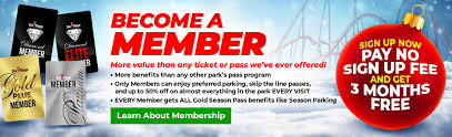 Six Flags St Louis Concert Seating Chart Cyber Sale Season Passes Memberships Six Flags Great