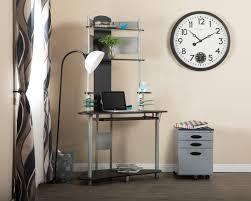 Studio Designs Arch Tower Computer Desk Arch Corner Computer Desk With Hutch Tower In Silver Black