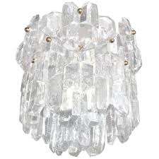 j t kalmar thick textured clear glass chandelier chandeliers and pendants lighting inventory