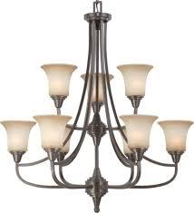 surrey orb bronze chandelier glass shades 32 wx35 h