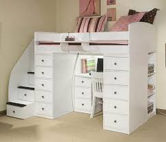 loft storage bed. full size loft bed with stairs photo storage