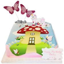 Fairy Toadstool Cake Toddler Birthday Cakes The Brilliant Bakers