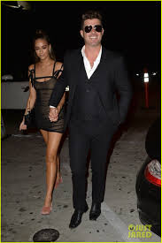 robin thicke.  Thicke Robin Thicke U0026 April Love Geary Arrive For Their Party To Reveal Sex Of  Upcoming Baby Intended R
