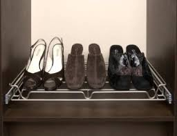 pull out closet organizer shoe rack