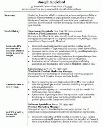 Summary An Executive With Marketing Manager Resume Objective And