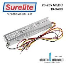 all parts and accessories buyultraviolet ballast 23 25v ac dc 15 50w includes specification sheet wiring