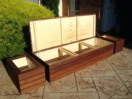 permalink to rubbermaid garden bench outdoor seat cushion storage outdoor designs