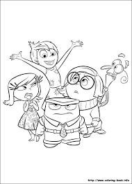 Small Picture Inside Out coloring picture Meet the Counselor Pinterest