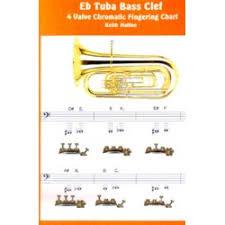 3 Valve Bbb Tuba Finger Chart Tuba Fingering Charts