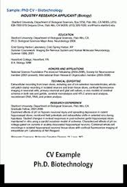 Sample Cv Student Curriculum Vitae Student Affairs