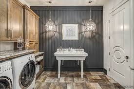 Lighting for laundry room Hallway Housetrends Pendant Lights Add Personality To Laundry Room