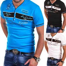 <b>Zogaa 2019 new</b> Clothing more colors V neck Short sleeve <b>Men</b> T ...