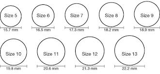Accurate Ring Size Chart Online Australian Ring Size Chart Printable Bedowntowndaytona Com