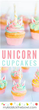 Unicorn Cupcakes The Perfect School Holiday Baking Project My