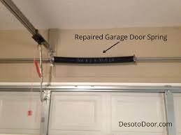 garage door springs. Broken Spring Example Garage Door Repair Break With Regard To Broke Plans 9 Springs N