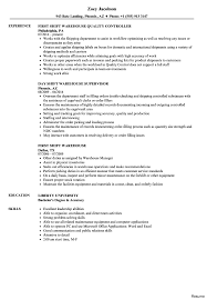 Warehouse Associate Resume Sample Printable Sample Of Warehouse Resume Associate Objectives 63