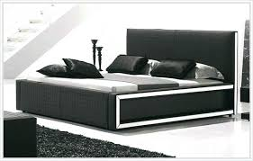Modern King Bed Black King Bed Frame Modern King Beds Storage Tall ...