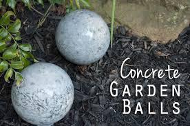 diy concrete garden