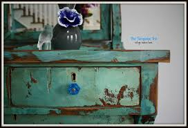 distressed antique furniture. turquoise heavily distressed antique dresser furniture