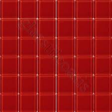 red glass tile cherry red 2 x 2 glass glossy tile red glass mosaic tile uk