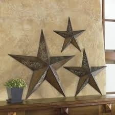 set of 3 rustic stars wall art on texas star metal wall art with can t have a texas decor without the star home is where the heart