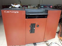 used c420rc leather splitting machine