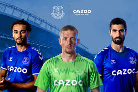 Everton jerseys, everton fc shop. Everton Unveil Home Kit For 2020 21 Season With New Supplier Hummel With Shirt Taking Inspiration From Iconic Z Cars Anthem