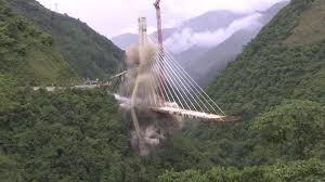 Chirajara Bridge Designer Unfinished Colombia Bridge Demolished After Killing 10 The