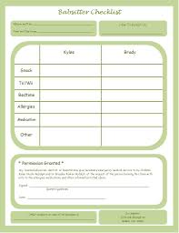 interior design flyers awesome interior printable babysitting information forms besides takes off her