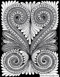 Small Picture Adult Leave Optical Illusion Coloring Pages Printable
