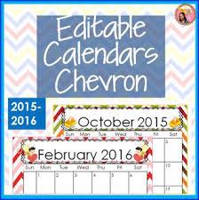 Nylas Crafty Teaching Editable School Calendars For 2016