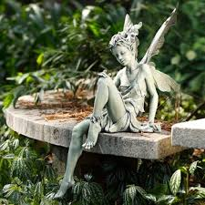 garden fairy figurines. 40 Stunningly Beautiful Statues Of Fairies And Angels For Your Home \u0026 Garden Fairy Figurines I