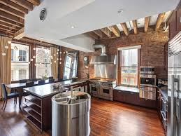 Decorative Interior Columns Open Plan Apartment Exposed Beams Iron Columns 4 Kitchenjpg Flat