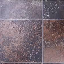 tarkett berkshire 12 ft w x cut to length rust tile low gloss finish sheet vinyl