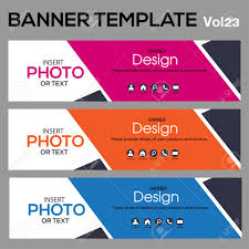 Desain Banner Vector Abstract Geometric Design Banner Web Template Banner Background