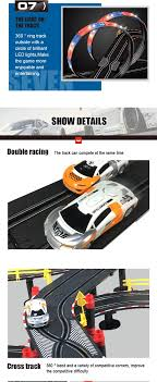 Slot Car Led Lights A47 17 Soba Toys New Design Magic Slot Car Huge B O Racing Sets Race Track Led Light Track Car Buy B O Racing Track Slot Car Track Racing Car
