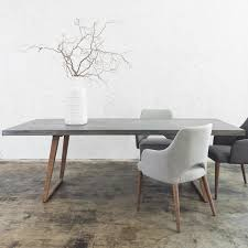 CONCRETE DINING TABLE 2200 x 900 | GREY | Concrete dining table ...