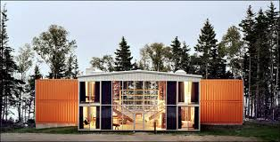 Though the corrugated orange exteriors of shipping containers are fairly  unvaried, Khalkin makes up for the uniform exteriors with a limitless  palette of ...