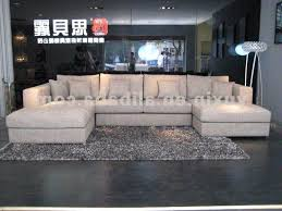 sectional sofa with double chaise. Contemporary Chaise Elegant Double Chaise Sectional Sofa 74 With Additional Table  Regarding Popular Home Prepare For E