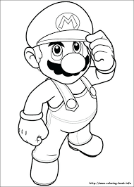 Super Mario Coloring Pages Or Super Mario Bros Coloring Pages