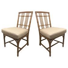 Mcguire Designer Furniture Balboa Side Chairs