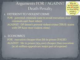 for and against the death penalty essay arguments for and against the death penalty essay