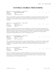 Sterile Processing Tech Resume Sample Bestsellerbookdb. resume gulz